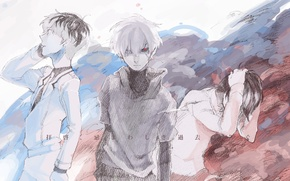 Картинка art, Tokyo Ghoul, Kaneki Ken, Токийский гуль, Sasaki Haise