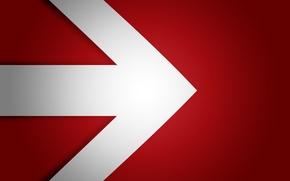 Картинка red, white, black, arrow