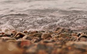 Картинка bubbles, bokeh, stones, effervescence