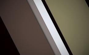 Картинка белый, полосы, серый, геометрия, коричневый, design, color, material
