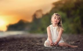 Картинка девочка, прелесть, боке, Lorna Oxenham, Beautiful Dreamer
