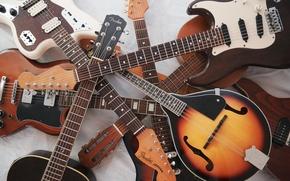 Картинка музыка, фон, гитары