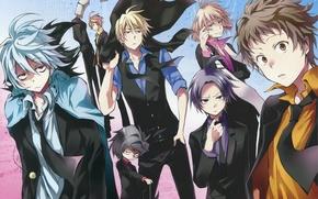 Картинка аниме, арт, парни, слуга вампир, Servamp