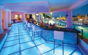 Картинка дизайн, стиль, интерьер, бар, бассейн
