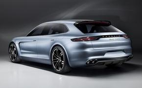Картинка Porsche, Спорт, Концепт, Panamera, Turismo, Sport, Панамера, Туризмо, Concept Порше