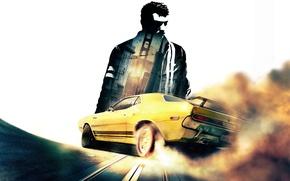 Обои San Francisco, games, Dodge Challenger, car, Driver