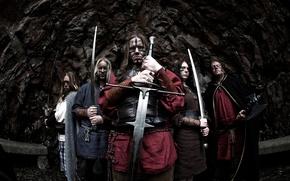 Картинка rock, finland, pagan metal, меченосец, ensiferum
