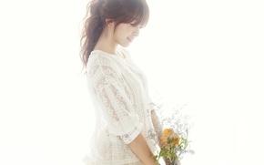 Картинка девушка, музыка, азиатка, Южная Корея, K-pop, AoA