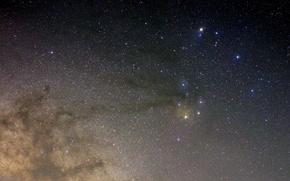 Картинка космос, звезды, туманность, тайна, Млечный Путь, бесконечность