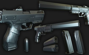 Картинка gun, design, muffler