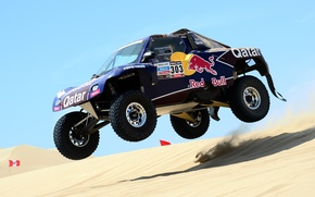 Картинка Песок, Гонка, Rally, Dakar, Ралли, Дюна, Buggy, Багги