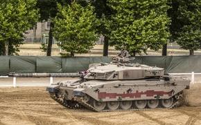 Картинка танк, боевой, британский, основной, годов, Challenger 1, 1980-х