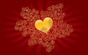 Картинка любовь, сердце, день святого валентина, heart, drops, valentines day