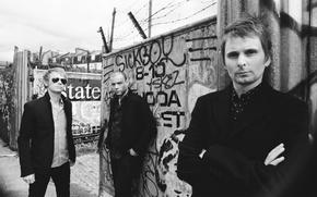 Обои Muse, Доминик Ховард, Крис Уолстенхолм, Мэттью Беллами