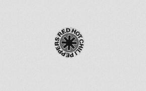 Картинка music, minimal, symbol, Red Hot chili peppers, fun art