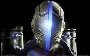 Обои шлем, главный герой, dark void
