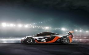 Картинка McLaren, GTR, profile, Ranier Peredo