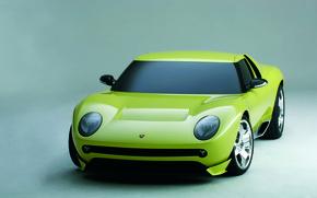Картинка Concept, Lamborghini, концепт, Miura, Stile, Centro