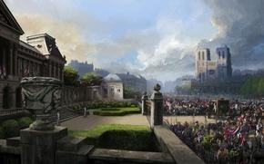 Картинка Собор, Ubisoft, Assassin's Creed, Assassin's Creed: Unity, Assassin's Creed: Единство, Кредо Убийцы: Единство