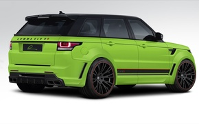 Картинка тюнинг, вид сзади, Range Rover Sport, tuning, Ленд Ровер, LUMMA Design, Ренж Ровер Спорт