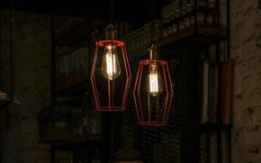 Картинка light, interior, lamp, lantern, bulb