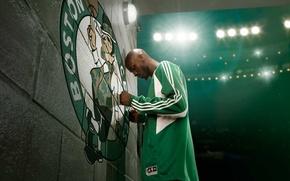 Картинка Баскетбол, Бостон, Boston, прожектора