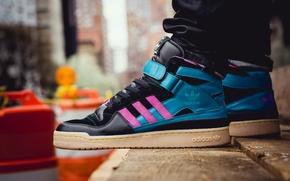 Картинка Адидас, кроссовки, Adidas, Forum Mid MNR 3
