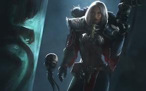 Картинка девушка, фантастика, Warhammer, art, Adepta Sororitas, Warhammer 40K, sisters battle