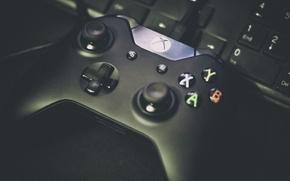 Картинка кнопки, клавиатура, приставка, xbox, геймпад, gamepad, Xbox One, стики, хуан