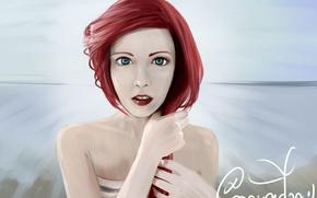 Картинка девушка, Ариэль, The Little Mermaid, ZaStenchevaya