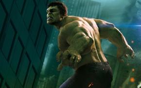 Обои Халк, Hulk, Мстители, The Avengers