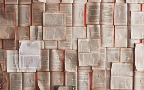 Картинка книги, старые, книга, библиотека, разные, страницы, разворот