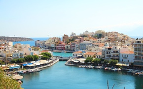 Картинка Греция, Залив, Агиос-Николаос
