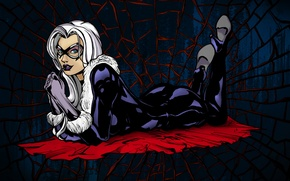 Картинка паутина, Marvel Comics, Black Cat, Felicia Hardy
