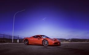 Картинка Феррари, Ferrari, 458, italia, Speciale