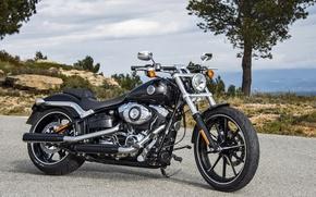 Картинка Харлей, Мотоцикл, Harley-Davidson, Breakout
