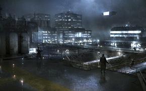 Картинка 2012, Syndicate, EuroCorp Headquarters Roof