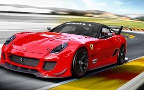 Картинка Race, Race Car, 599XX, Ferrari Race, Ferrari 599XX Race, Ferrari Red, Ferrari Wallpaper, Ferrari 599XX, …