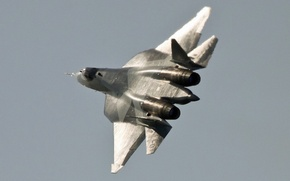 Картинка 2011, August 17, Moscow (UUBW), Sukhoi T-50