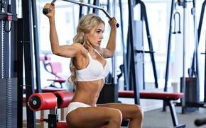Обои workout, gym, sportswear, fitness