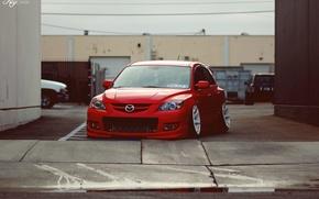 Картинка red, Mazda, красная, мазда, mazda 3
