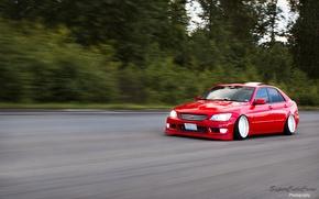 Картинка Toyota, altezza, red