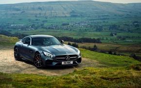 Картинка Mercedes, AMG, Mercedes Wallpaper, 2016 Mercedes-AMG GT S, Mercedes 2016, 2016 Mercedes-AMG GT S Wallpaper