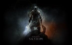 Обои The Elder Scrolls V Skyrim, давокин, dragonborn