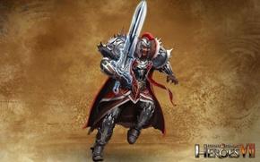 Картинка арт, art, герои меча и магии 7, Might & Magic 7, Альянс Света, Мастер Меча