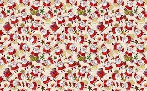 Обои Новый год, праздник, Санта Клаус