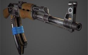 Картинка Ak-47, автомат калашникова, автомат, калашников, оружие