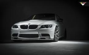 Картинка BMW, Vorsteiner, E92, Mineral White