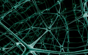 Обои сеть, нейроны, связь