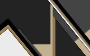 Обои бежевый, серый, геометрия, черный, линии, material
